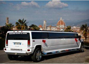 limousine hummer tiffany per una festa elegante