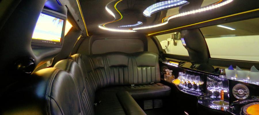 limousine lincoln royale interni
